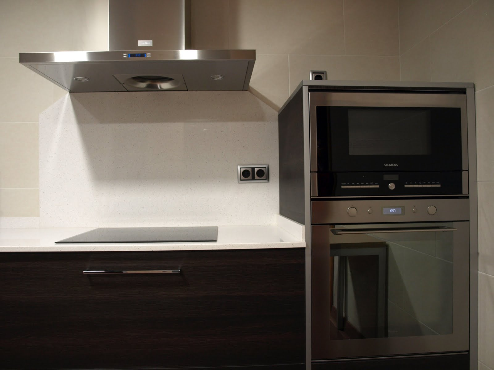 Espai decuina ripollet barcelona proyecto cocina - Cocina en microondas ...