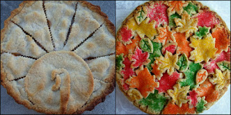 thanksgiving pie decorating ideas