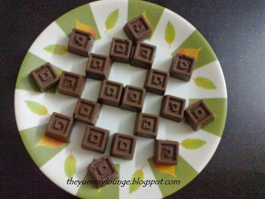 Homemade Chocolate with Gift Idea