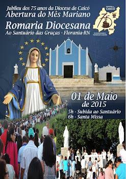 Fotos da Romaria Diocesana na cidade de Florânia