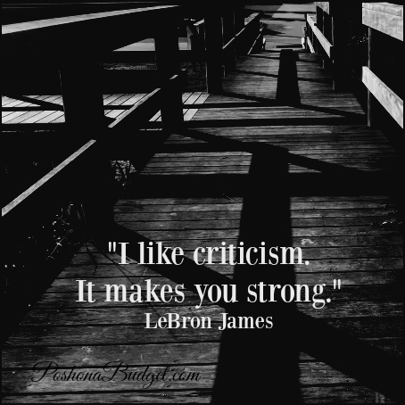 """""""I like criticism. It makes you strong."""" LeBron James"""