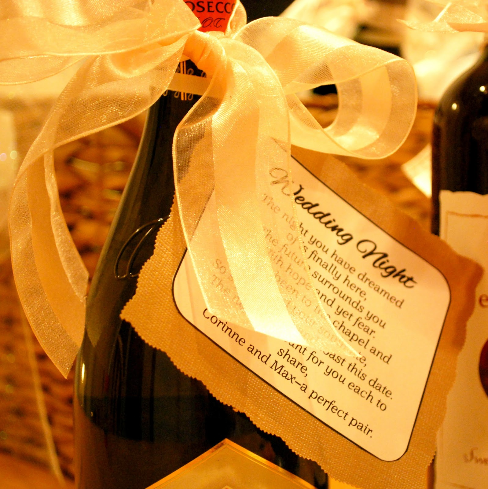 A Girl's Guilty Pleasures: DIY Bridal Shower Wine Poems