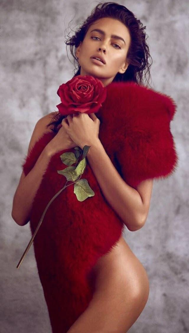 Irina Shayk en Harper's Bazaar China