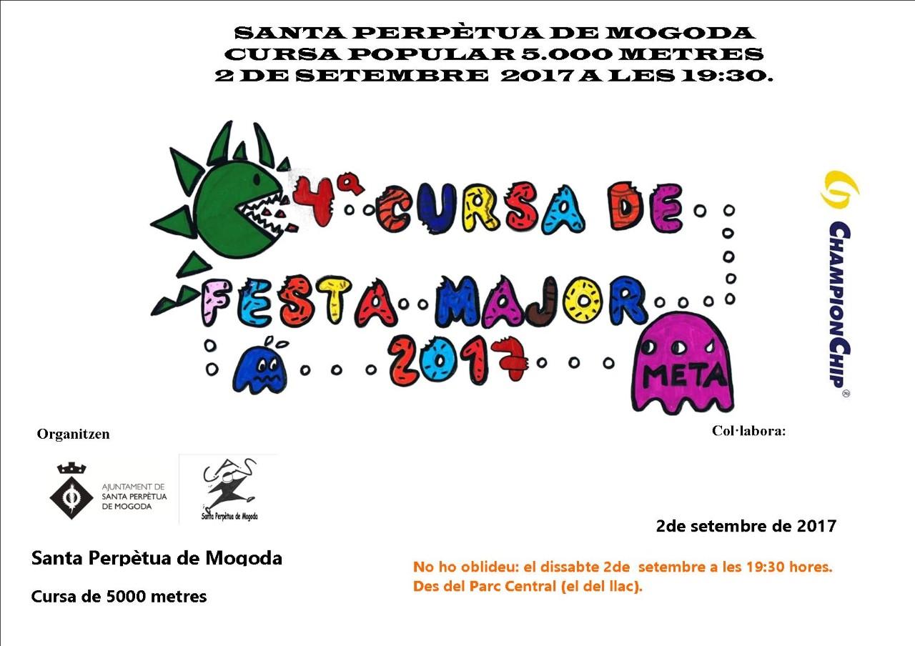 Cursa Popular de Festa Major  Santa Perpètua de Mogoda (02.09.17)
