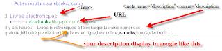 ajouter une description pour votre blog