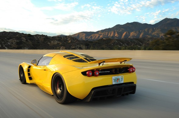hennessey venom gt yellow design car preview  mbil cars