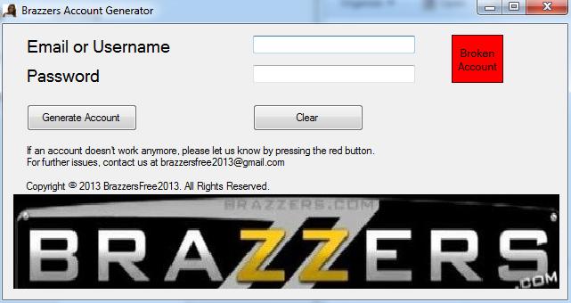 Premium brazzers account free Brazzers Hack
