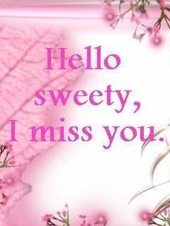 freegreetingsecards: I Miss You   I Miss You Sweetheart
