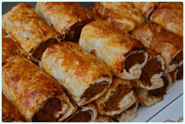 Bolton Food Festival 2013 - Sausage Rolls