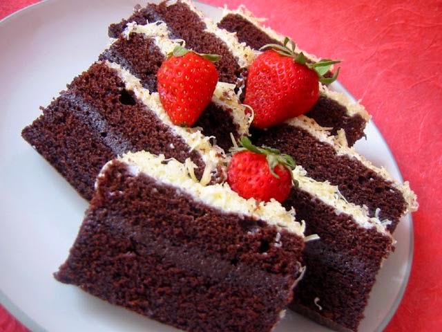 Resep Membuat Brownies Kukus Tepung Singkong