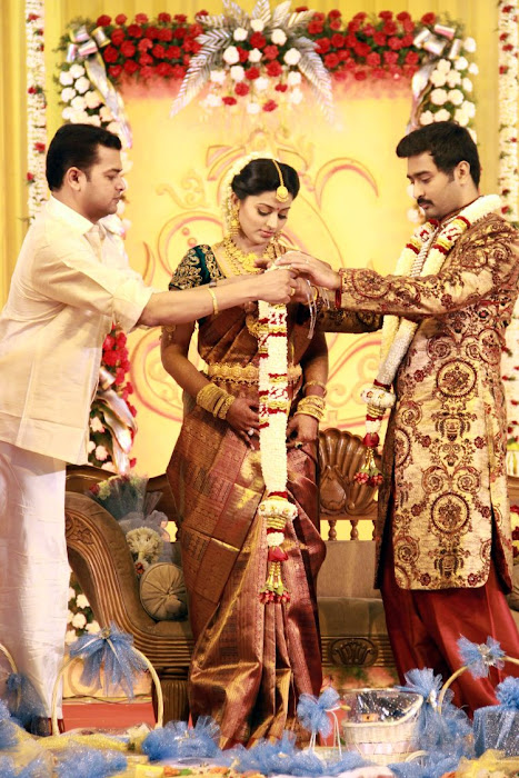 Sneha and Prasanna Wedding Reception Stills release images