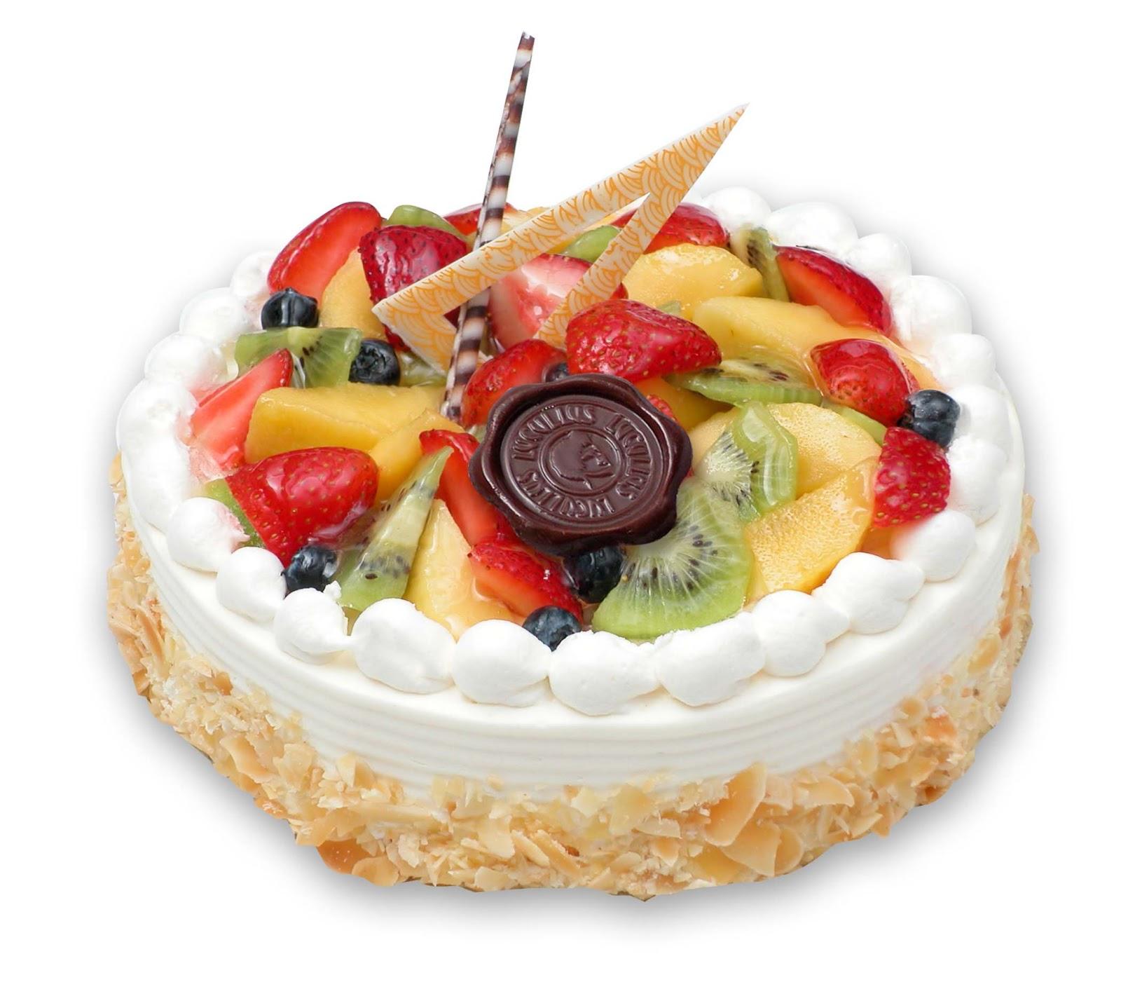 Fresh Fruit Cake Recipe ~ Easy Dessert Recipes
