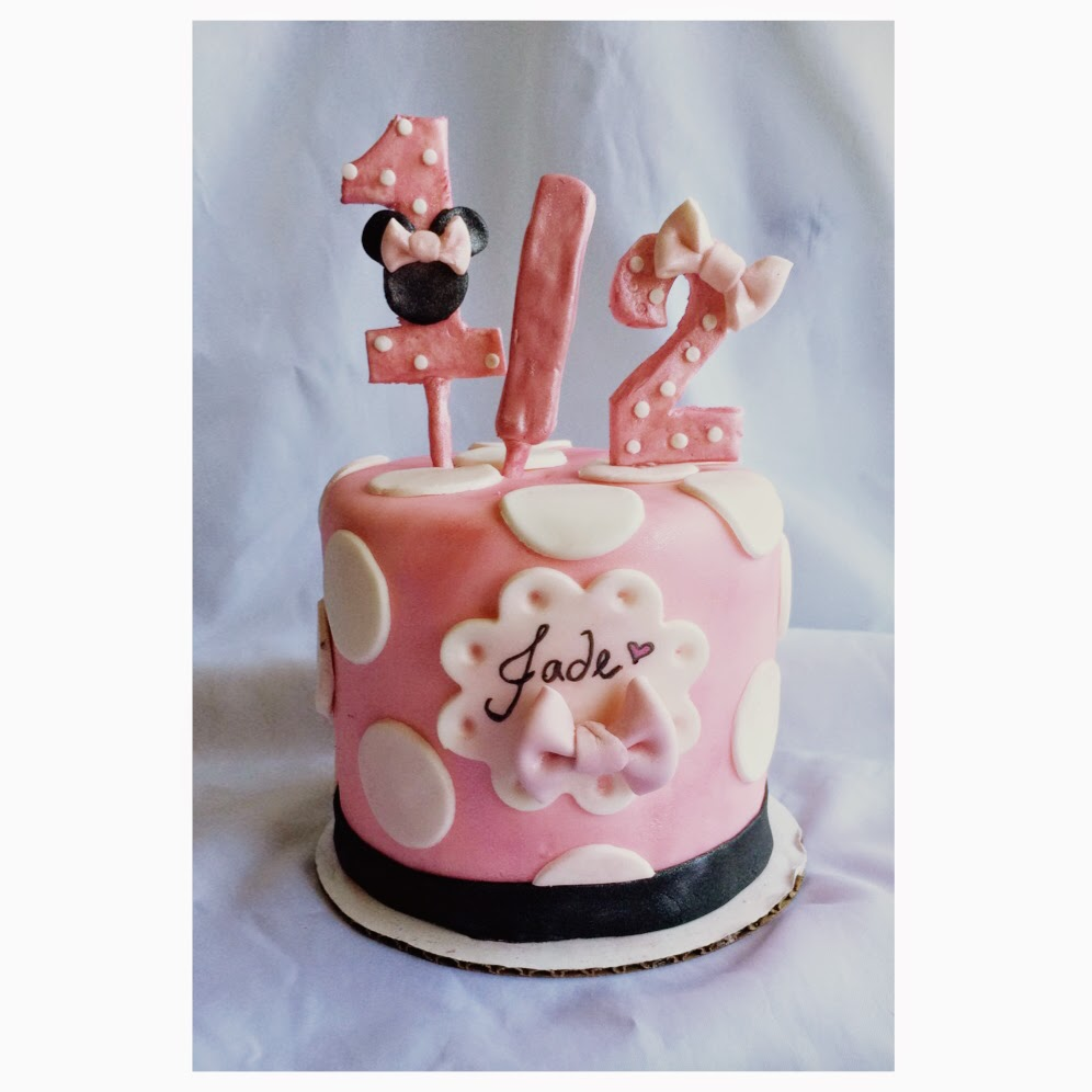 Cake By Joelyn Minnie Mouse 4