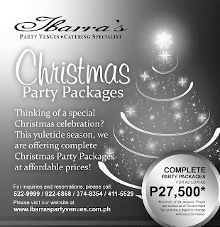 An Early Christmas from Ibarra's Catering