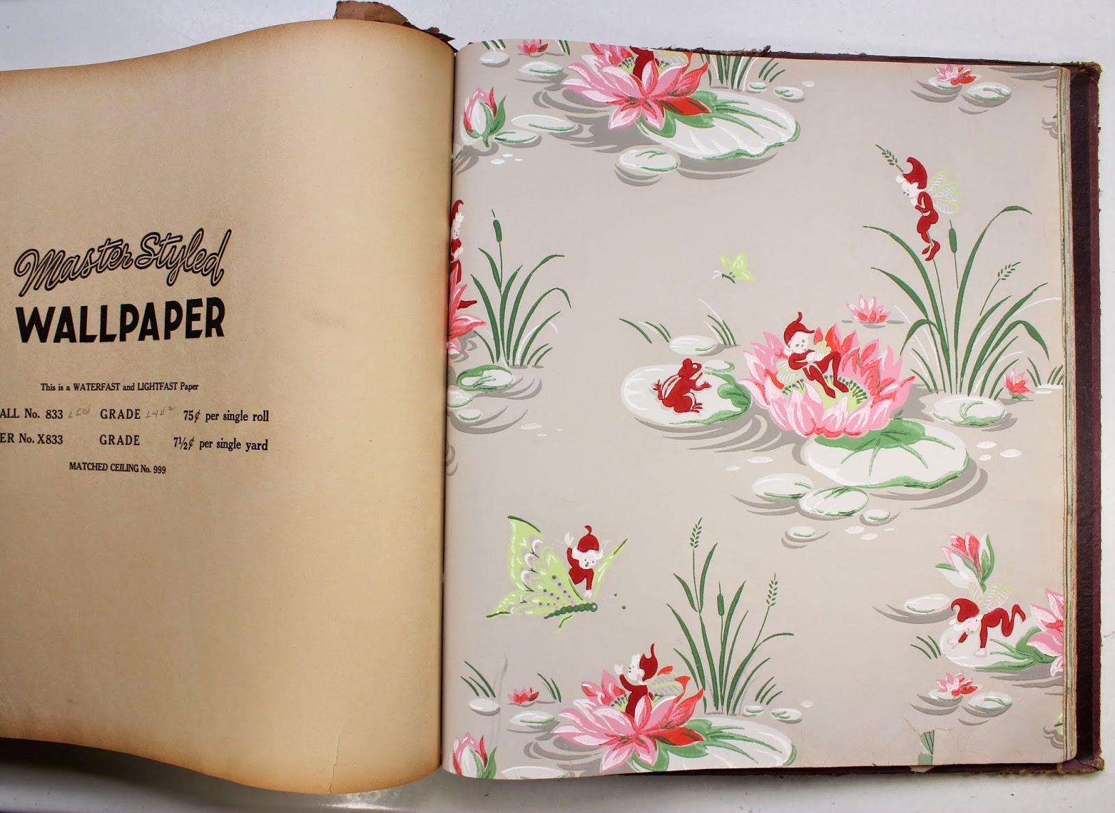 Rosies Vintage Wallpaper Collection Of Sample Books