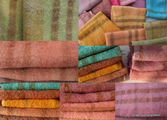 Scrap quilt and stitch laine feutr e - Que faire avec des disques vinyles ...