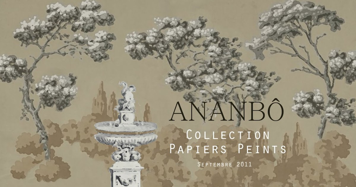 ananb papiers peints panoramiques une nouvelle collection imprim e. Black Bedroom Furniture Sets. Home Design Ideas