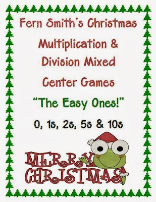 http://www.teacherspayteachers.com/Product/Christmas-Multiplication-Division-Mixed-Center-Games-The-Easy-Ones-174758