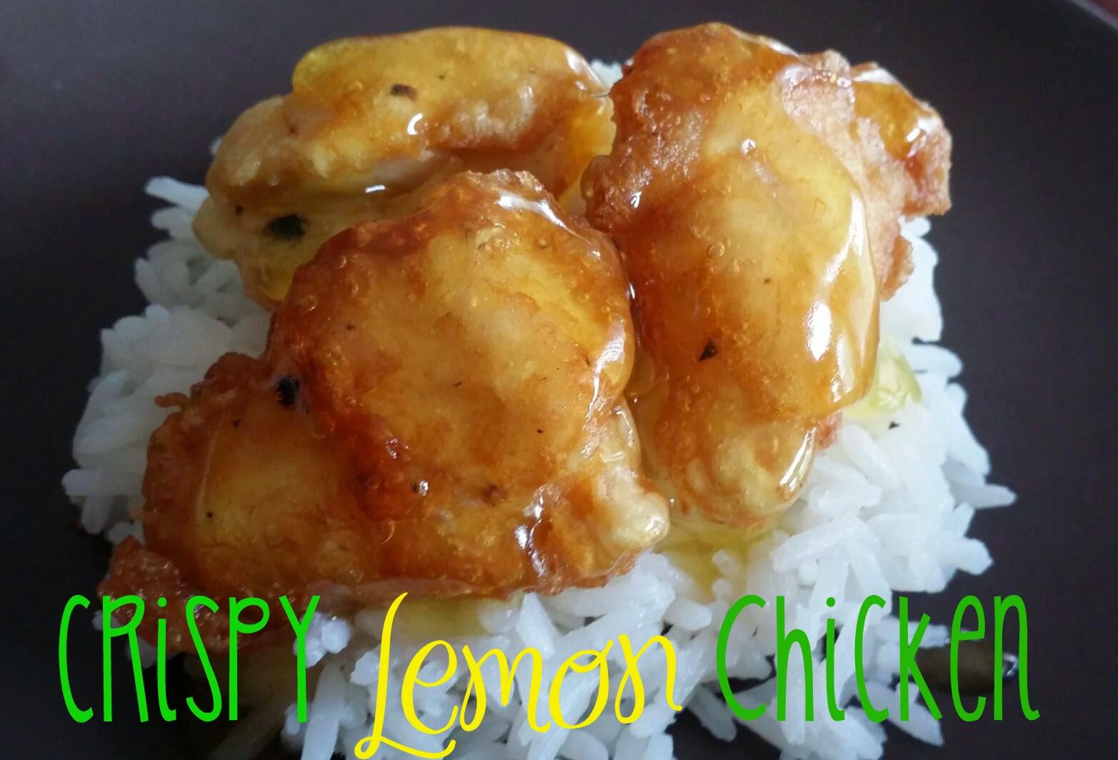 My Favorite Things: Crispy Lemon Chicken