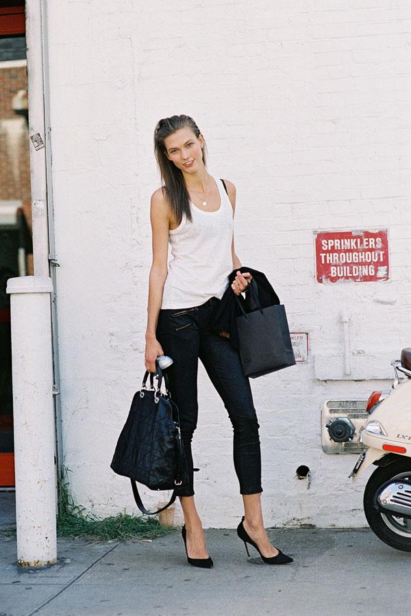 Karlie Kloss 2013 Street Style