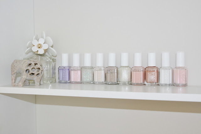 Katherine Penney Chic Bedroom Details Pastel Summer Pretty Essie Nail Polish