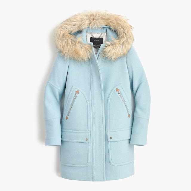 j crew chateau parka on sale