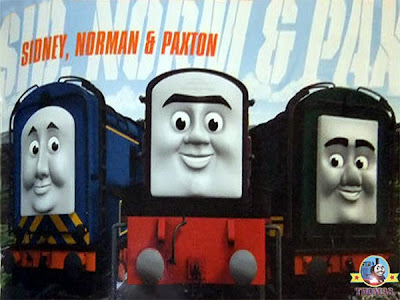 Ultimate day of the Diesel Thomas the tank engine characters railway train book Steamies and Diesels