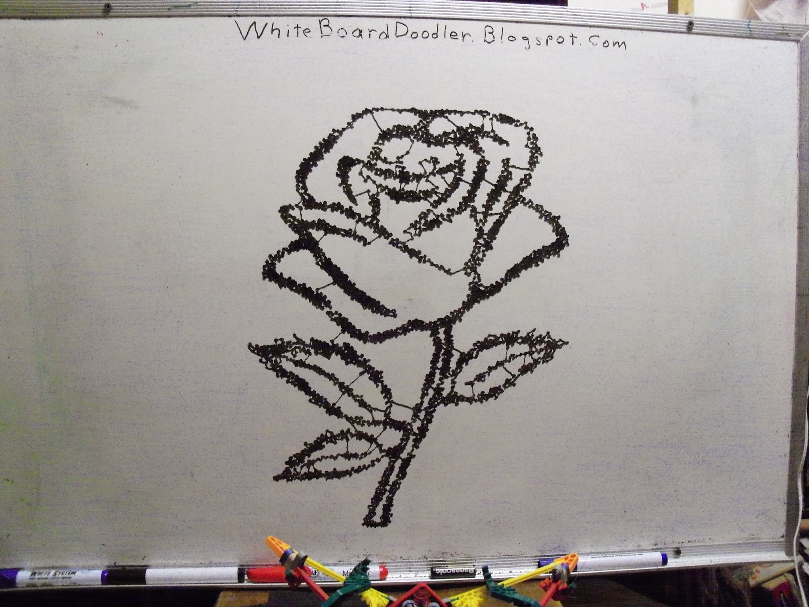 White board doodler for Stuff to draw on a whiteboard