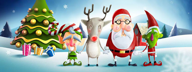 Cute Christmas cover photo for facebook