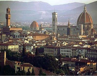 Vista a partir da Piazza Michelangelo