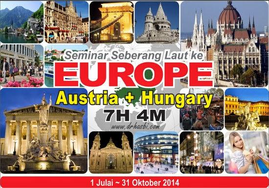 Percutian percuma ke Austria dan Hungary bersama team Hebat Berniaga Online dan Awesomazing Team