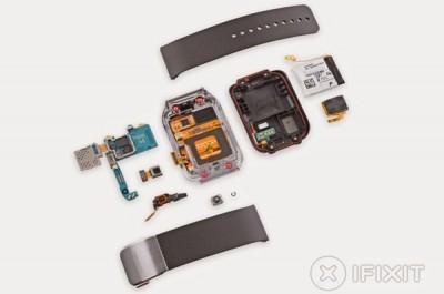 Samsung Gear 2 Mudah Dibongkar Pasang