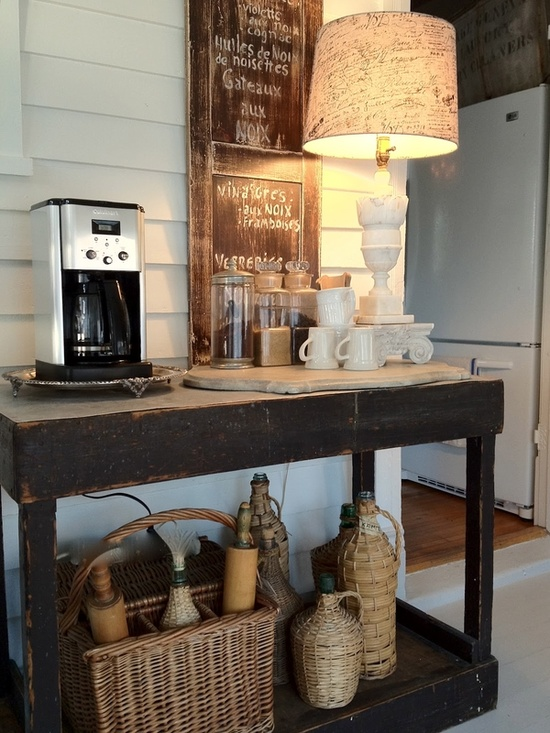 how to create a coffee bar