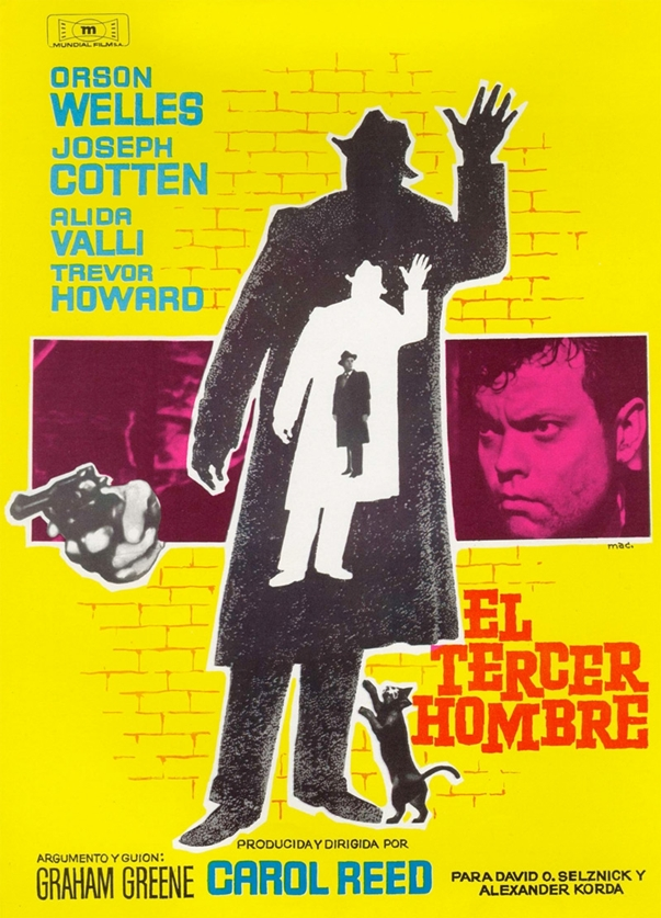 Spanish poster The Third Man
