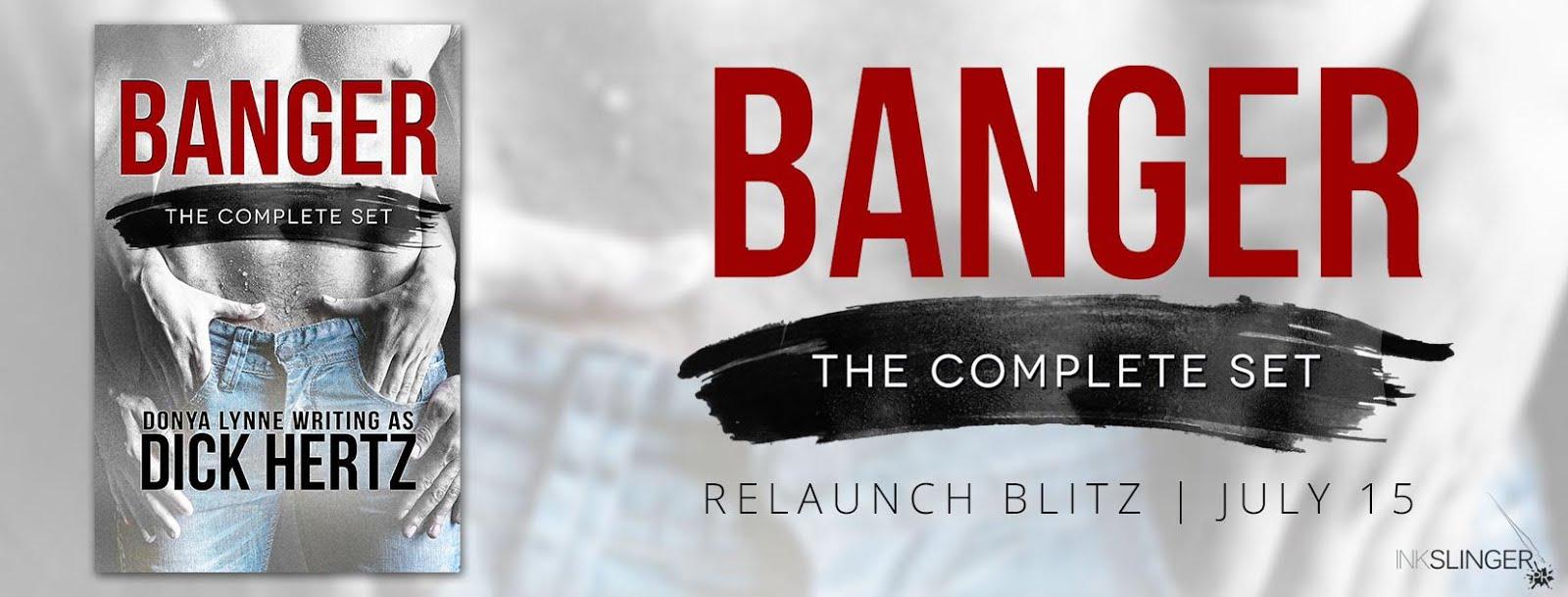 Banger Release Day Blitz Relaunch