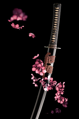 iPhone 4 Katana Sword Wallpaper