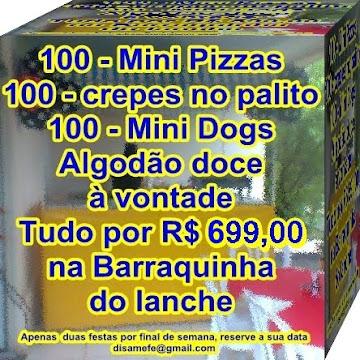 LANCHONETE LEGAL 4 PRODUTOS POR R$ 699,00