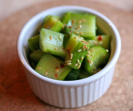 Sesame Cucumber Salad Recipe |Japanese Food Recipes