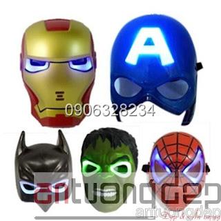 bán mặt nạ siêu anh hùng
