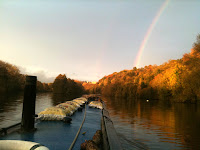 Rainbow over Cliveden