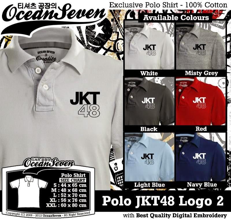Kaos Polo JKT48 Logo 2
