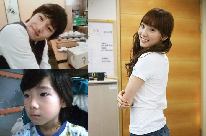 ayah taeyeon mempunyai sebuah toko kacamata yang saat ini  banyak    Snsd Taeyeon Sister Hayeon