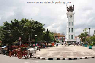 Penyewaan Mobil di Tempat Wisata Bukittinggi Padang