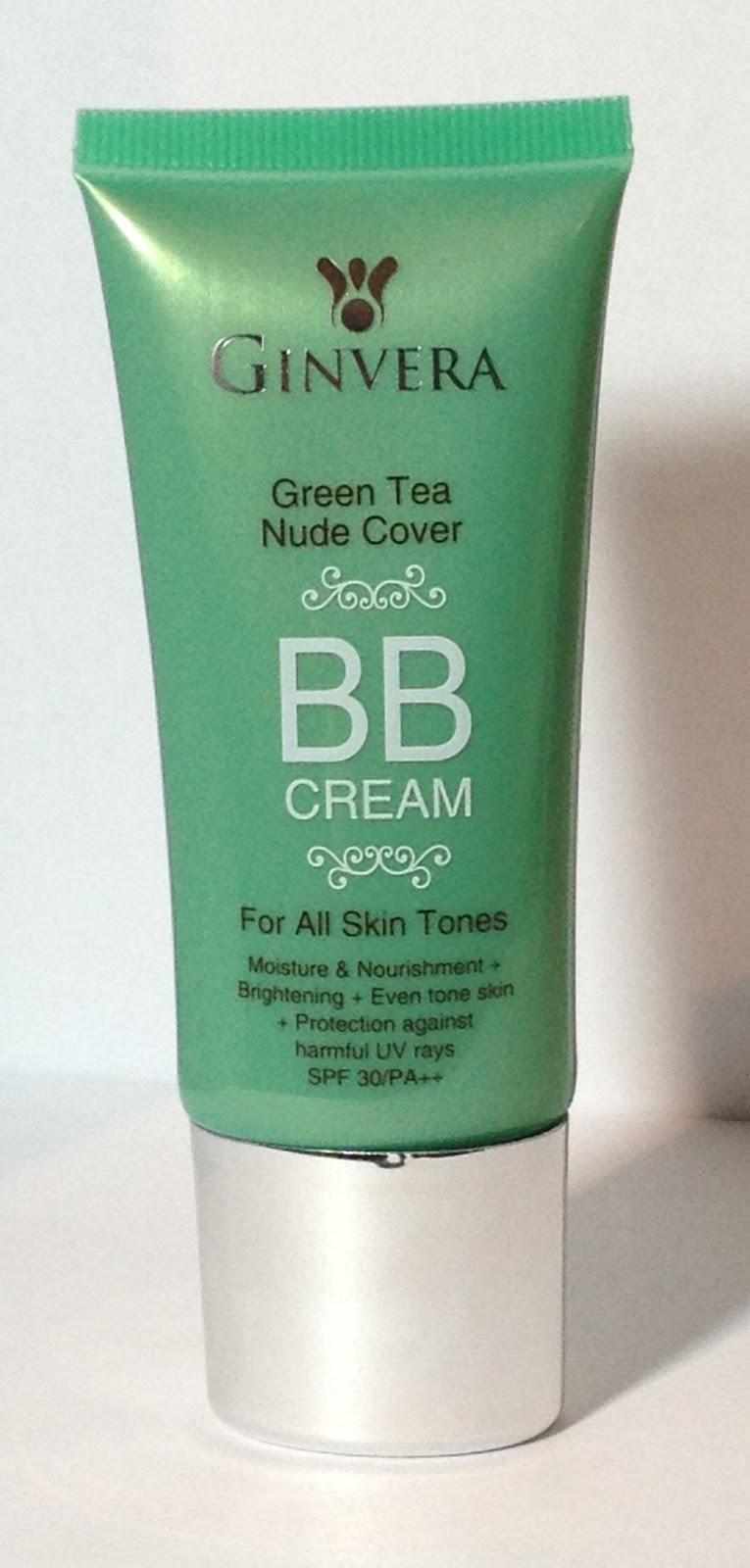 Ginvera - Green Tea Nude Cover BB Cream reviews, photos