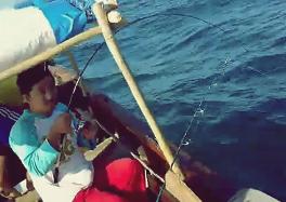 Gila Mancing Ikan Dapat Ikan Mamong ( ikan Kuwe )
