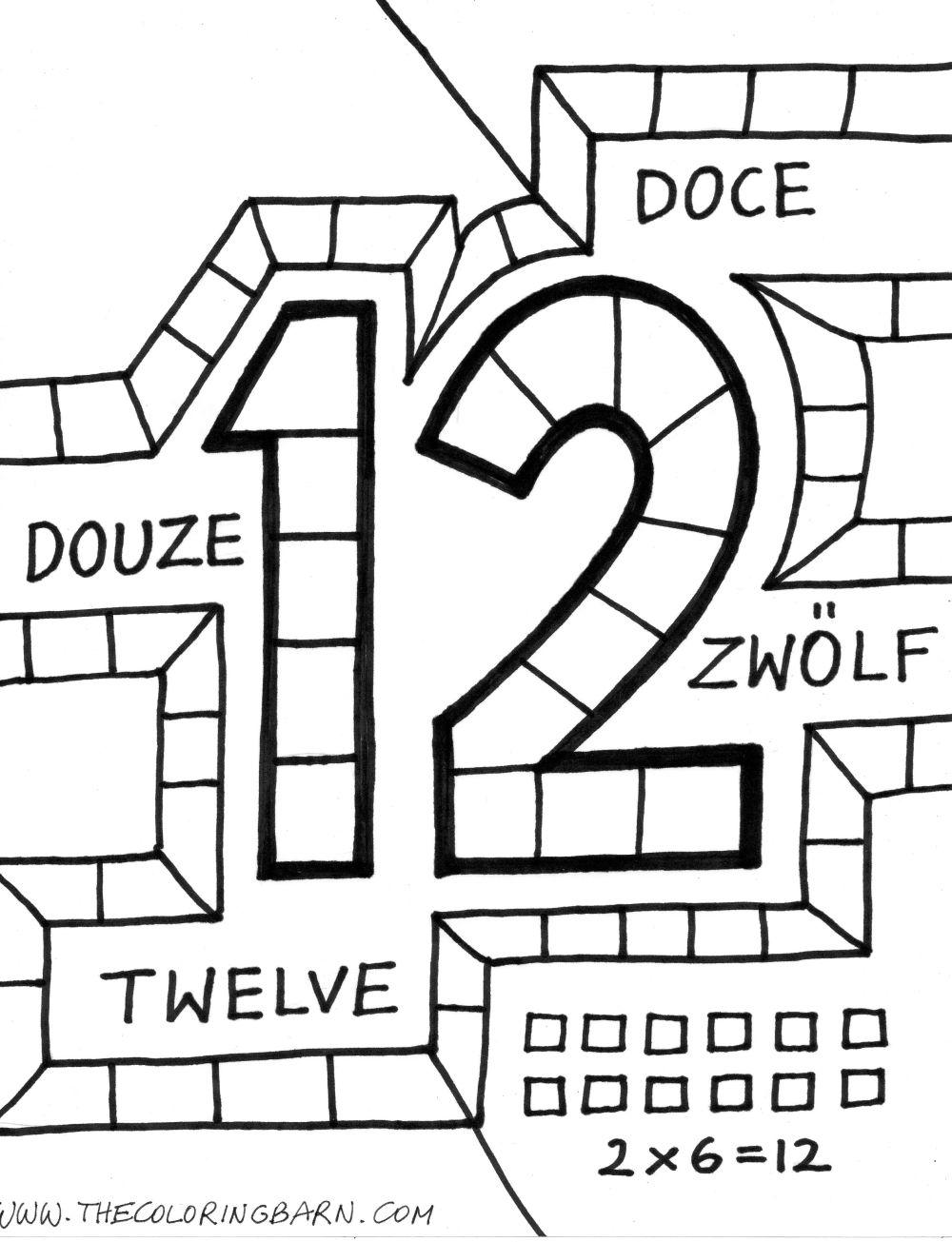 Number 12 Books - Twisty Noodle