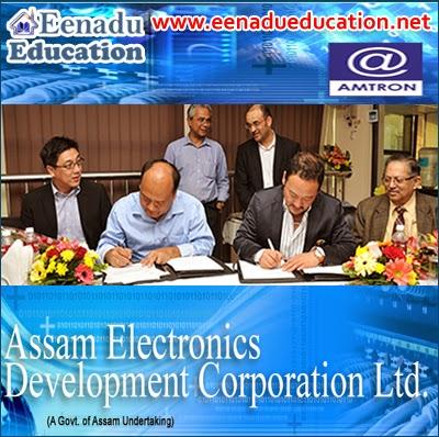 Assam Electronics Development Corporation Ltd: Various Posts