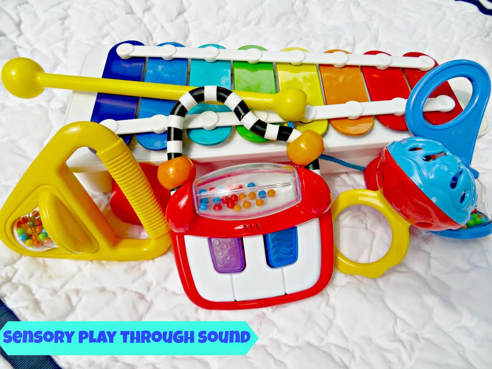 Sensory Play Through Sound