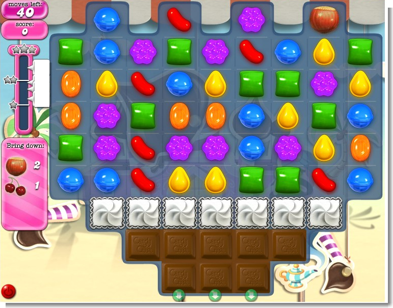 candy crush tips level 117 doel van candy crush level 117 haal vier ...