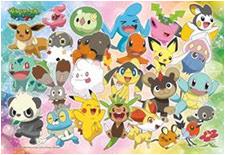 Pokemon XY Jigsaw Puzle Ensky 108 pcs
